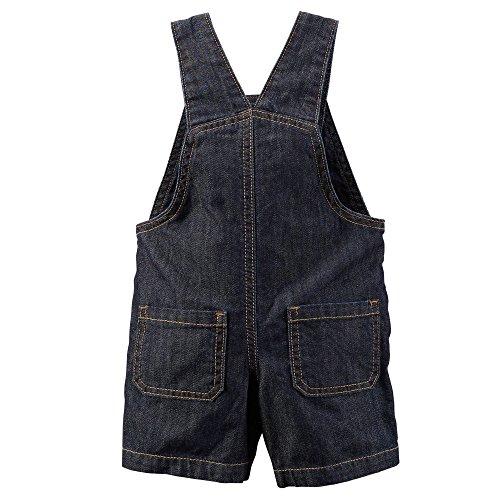 Carter's Baby Boys' Classic Denim Shortalls (9 Months)