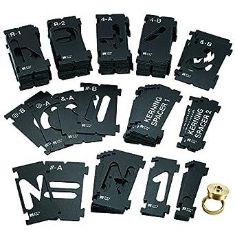 """Rockler Interlock Professional signmaker modèle de State Park POLICE 3 3//8/"""" Kit"""