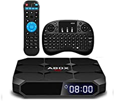 Globmall ABox Max Android TV Box with 2GB RAM 16GB ROM
