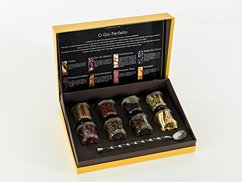 Gin Tonic 8 Spices Kit with Free Bar Spoon Gift Box Gin Flavoring Spices Best Value