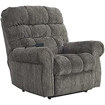 Ashley Furniture Signature Design - Ernestine Power Lift Recliner - Dual Motor Design - Polyester Upholstery  sc 1 st  Amazon.com & Amazon.com: Ashley Furniture Signature Design - Ernestine Power ... islam-shia.org
