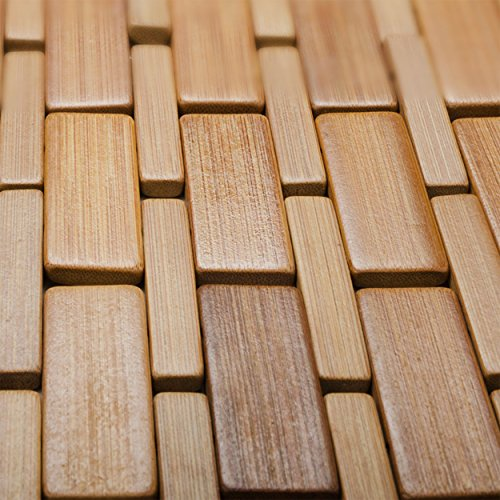Bamboo Sauna Towels: Luxurious Bamboo Bath Mat For Shower, Bath, Spa Or Sauna