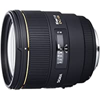 Sigma 85mm f/1.4 EX DG HSM Large Aperture Medium Telephoto Prime Lens for Canon Digital SLR Cameras - Fixed - International Version (No Warranty)