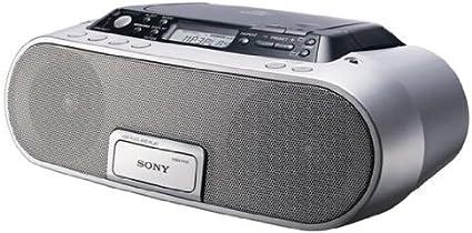 Sony Zs Ps 20 Cp Cd Radio Rekorder Mit Usb Silber Grau Audio Hifi