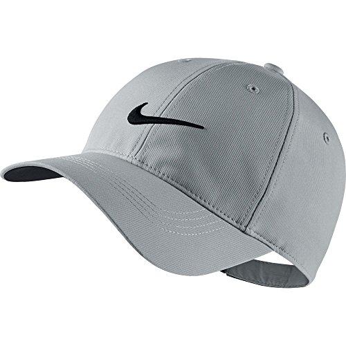 Nike+Mens+Golf+Legacy91+Tech+Adjustable+Hat+Wolf+Grey%2FBlack+727042-012