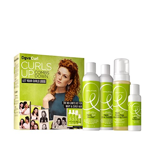Price comparison product image Devacurl Curls up Set - For Wavy and Curly Hair