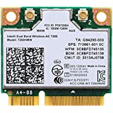 Network Bluetooth Card for 7260HMW Dual Band Wireless-AC 7260 Network Adapter PCI Express Half Mini Card 802.11 b/a/g/n/ac