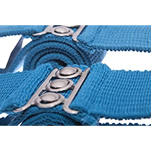 Malco Modes Wide Silver Gold Belt Cinch Waist Belt Stretch Belt X-Large Silver