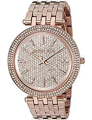 Michael Kors Womens Darci Rose Gold-Tone Watch MK3439
