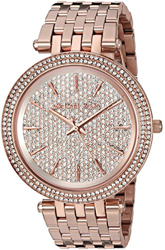 Michael Kors Women's Darci Rose Gold-Tone Watch MK3439