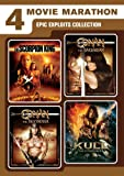 4 Movie Marathon: Epic Exploits Collection (The Scorpion King / Kull the Conqueror / Conan the Barbarian / Conan the Destroyer)