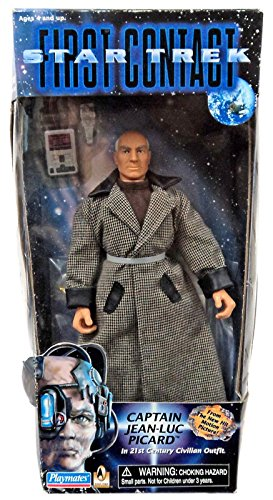 (Star Trek First Contact Captain Jean-Luc Picard in 21st Century Civilian Outfit)