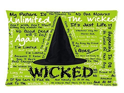 Wicked Witch of the West Background for Rectangle Pillow Case 20