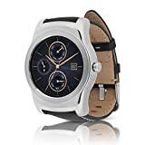 Lg Smart Watches Best Deals - LG Watch Urbane (W150) Smartwatch w/ Leather Wristband (Certified Refurbished) (Silver / Black)
