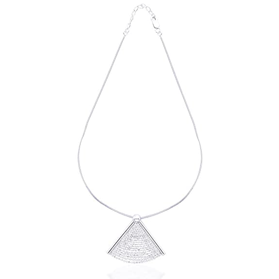 TARAASH Diamond Cut Chain Necklace Set for Women #NS0903S Jewellery Sets at amazon