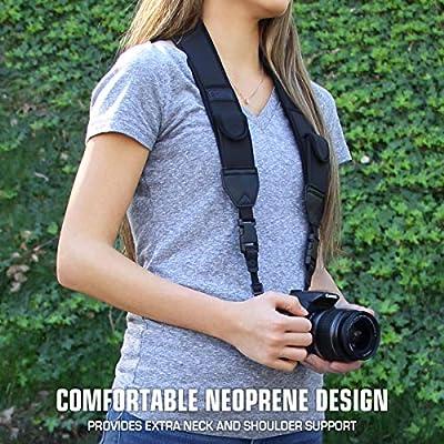 Correa para Cámara de Fotos de Neopreno USA Gear. para Camaras ...
