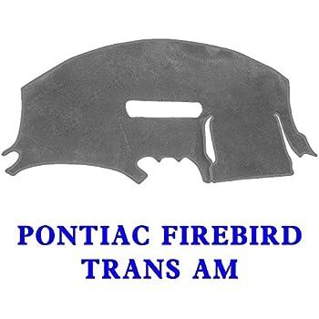 Yiz Dash Cover Dashboard Cover Pad Mat Custom Fit for Pontiac Firebird Trans AM 1997-2002 Black Y41