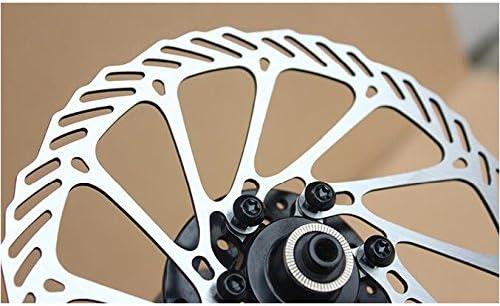Bicycle Disc Brake Brake Rotors 140//160//180//203MM Aluminum alloy 6-hole