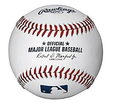 Official Major League Leather Game Baseballs from Rawlings - (One Dozen)