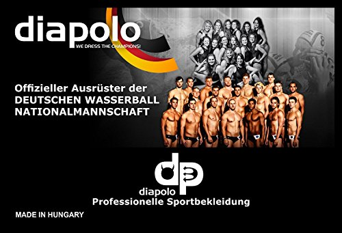 Diapolo Lion Herren Badehose Schwimmhose aus der Fun Kollektion für Schwimmen Wasserball Triathlon
