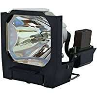 AuraBeam Professional Replacement Projector Lamp for Mitsubishi LVP-S250U With Housing (Powered by Ushio)