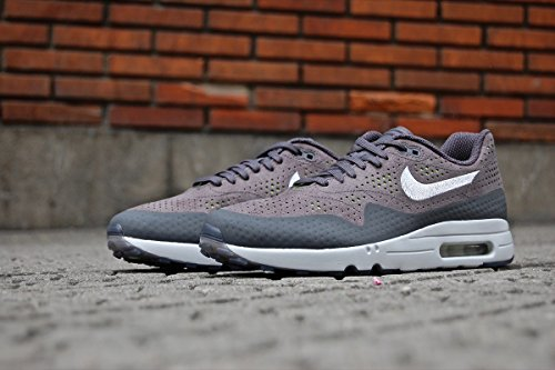 Nike, Uomo, Air Max 1 Ultra 2.0 Moire, Tessuto tecnico, Sneakers, Grigio