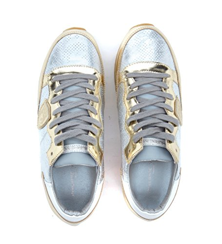 En Plata Josephine Sneaker Philippe Espejo Piel Model Efecto B1BpwF