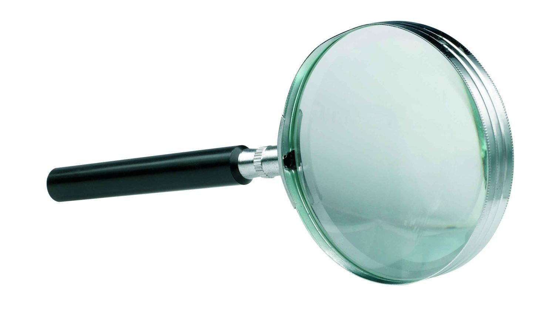 Alco-Albert 1274 Lupe, 3-fach Vergrößerung mit Griff, 75 mm