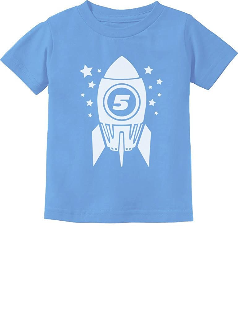 Gift for Five Year Old 5th Birthday Space Rocket Toddler/Infant Kids T-Shirt G0PMZM0gm5