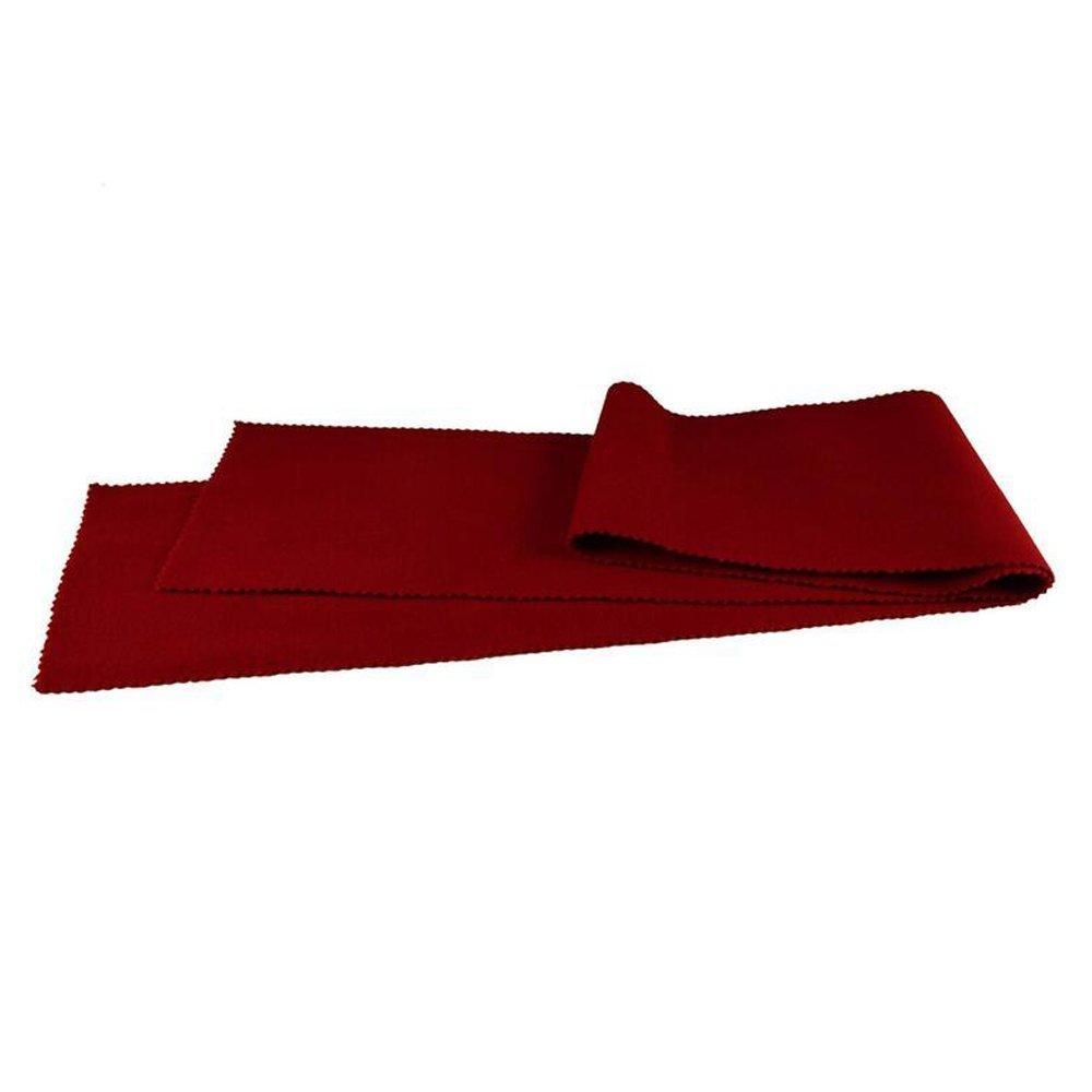 Funda protectora de lana para teclado de piano, 127 x 15 cm, color rojo Unbekannt