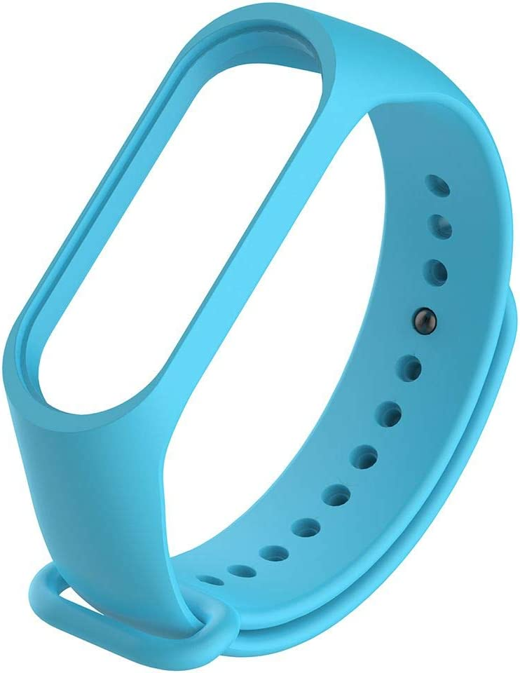 Idyandyans Cinghia di Ricambio per Xiaomi Mi 3 TPU Wristband Cinturino da Polso Sostituire Accessori
