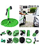 TUZECH EZ Expandable Magic Hose Kit Car /Home/Garden Water Cleaner Cum Washer - 10 Metres