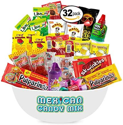 Mexican Candy Assortment Snacks (32 Coun