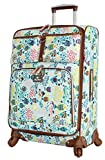Lily Bloom Hard Shell Luggage Hardside Spinner Cute Suitcase 24in