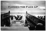 Harden - Military Motivational Quote Art Silk Poster Print 24x36''
