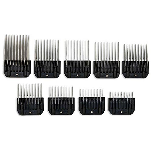 Geib Clip-On SS Comb Set (9 Pack)