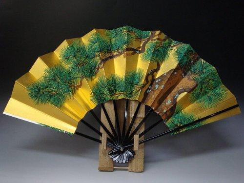 飾り扇子 京扇子 「松」 B009KXM2UO