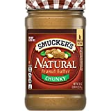 Smucker's Natural Chunky Peanut Butter, 26 Ounces