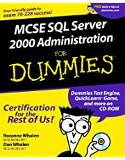 MCSE SQL Server 2000 Administration For Dummies