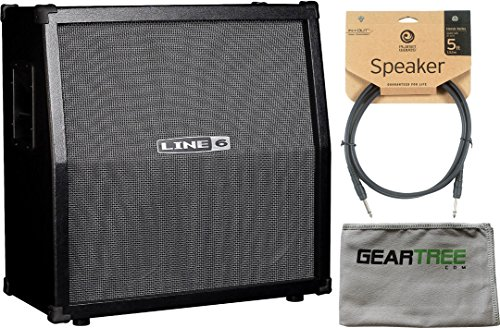 Line 6 99-030-1901 Spider 412 Cabinet 2017 w/ Cloth and Speaker Cable