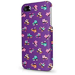 Phone Case For Apple iPhone 5 - Rollerskate Disco - Hard Cover