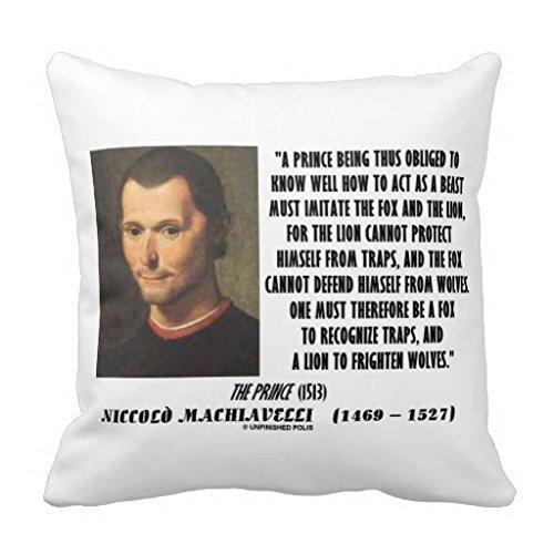 Ekxicssv Machiavel Prince Imitant Le Renard Et Le Lion