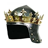 Armor Richard the Lionheart Medieval Helmet Metallic Colour One Size