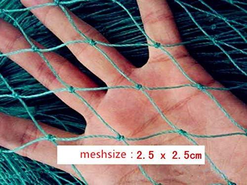 Green Mesh 2.5x2.5cm Customize Hand Made Beach seine// Drag Nets