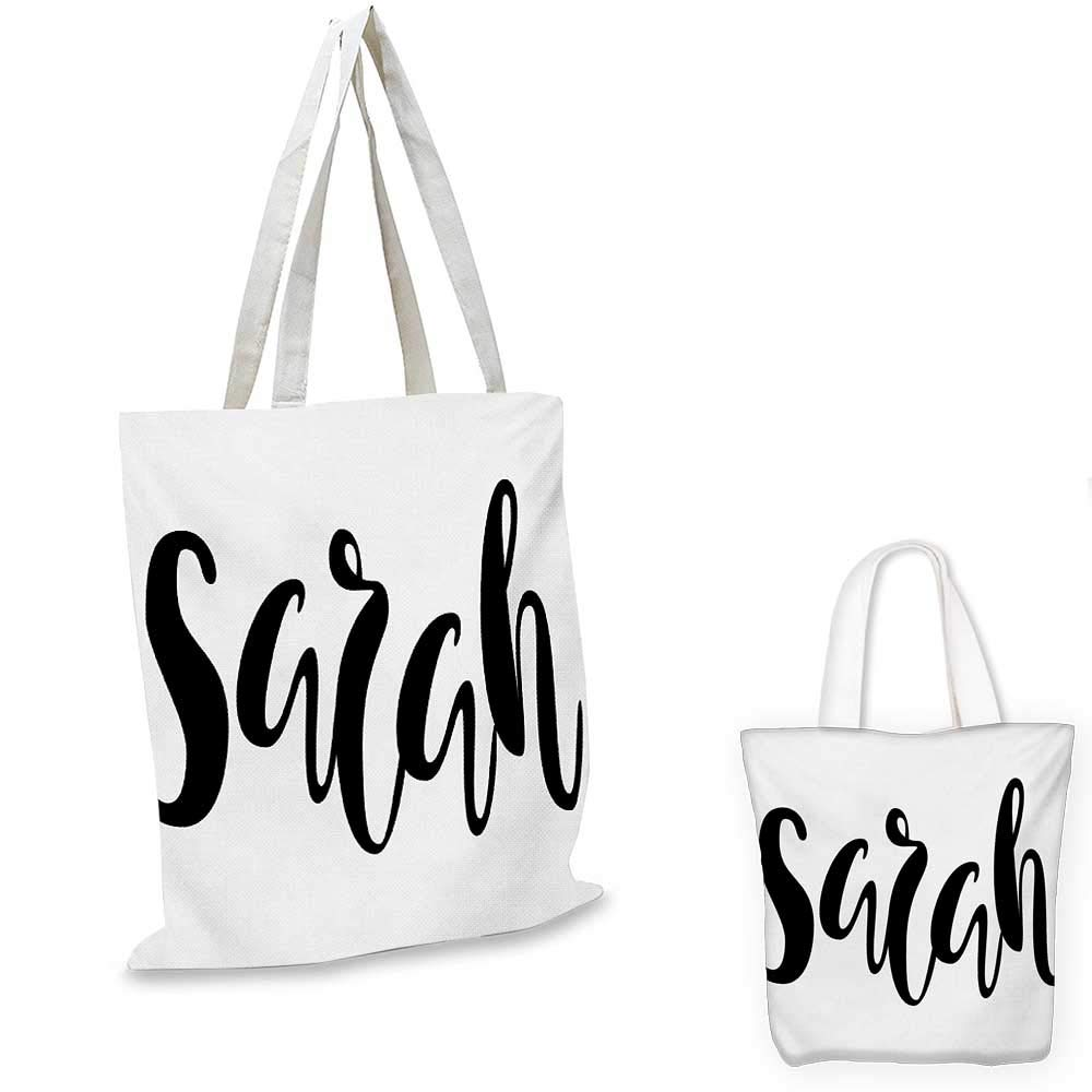 SarahMonochrome ポピュラーな女性名 モダン カリグラフィー 手描き 署名 レタリング ブラックとホワイト 14