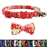 XPangle Bowtie Cat Collars Breakaway with