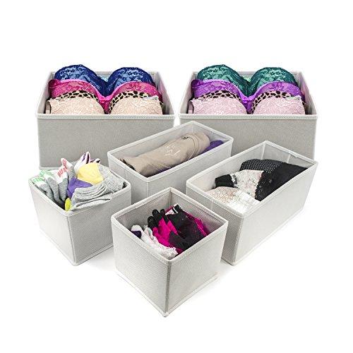 Sorbus Foldable Storage Dresser Organizer