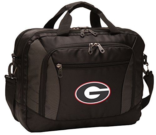 University of Georgia Laptop Bag Best NCAA Georgia Bulldogs Computer Bags by Broad Bay