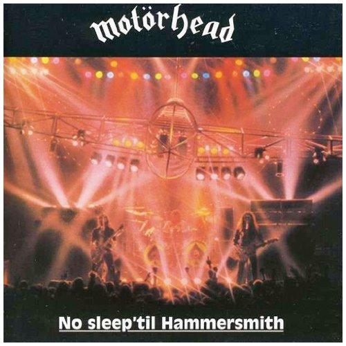 Αποτέλεσμα εικόνας για NO SLEEP 'TIL HAMMERSMITH-Motorhead vinyl cover