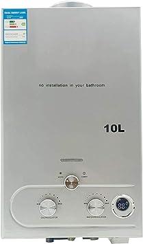 TABODD 10L 20KW Calentador de agua portátil LPG Kit de ducha ...